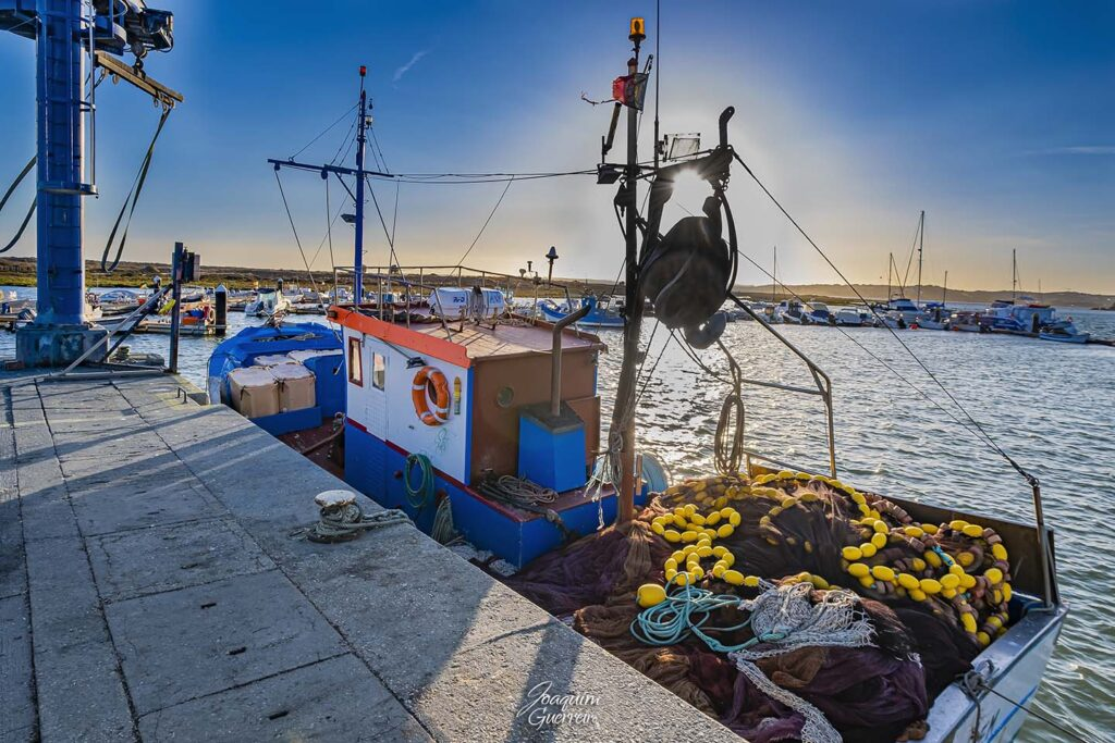 Barco de pesca em Alvor