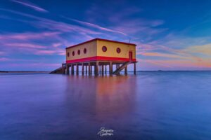 Casa do salva vidas na Fuzeta Algarve
