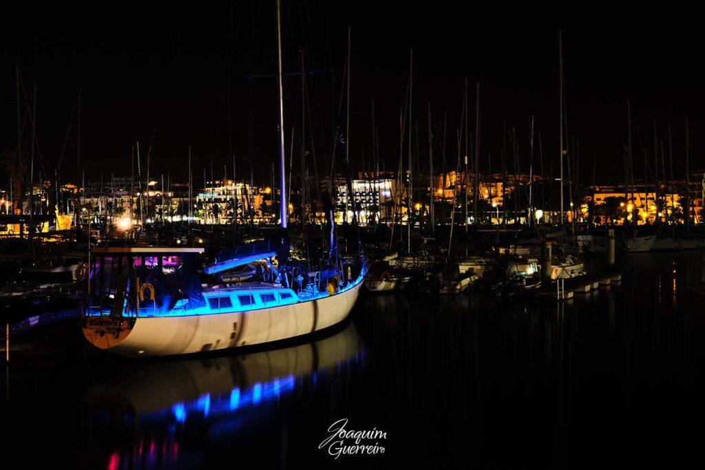 Marina de Lagos a noite - Algarve