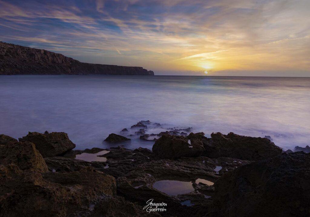 Longa Exposição na Praia da Ponta Ruiva - Algarve