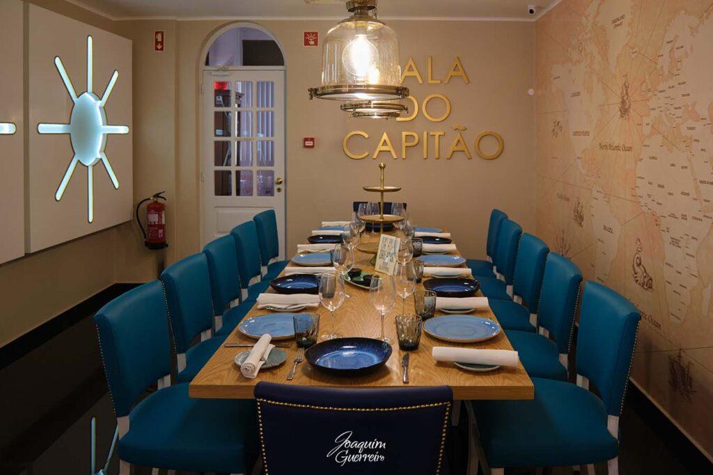Restaurante Titanic sala do capitão