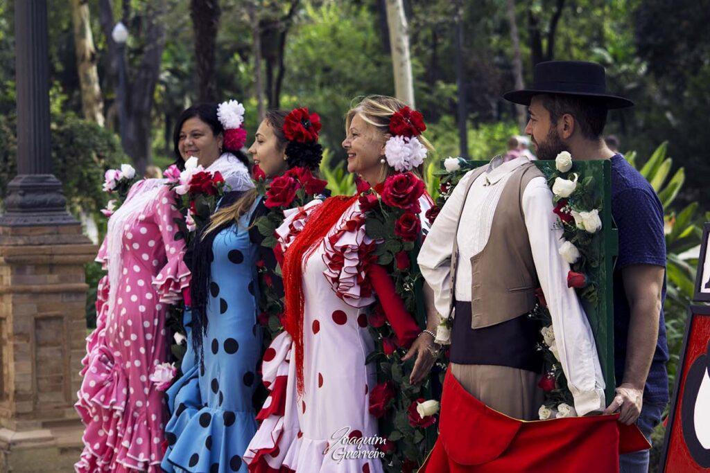 Sevilha roupas tradicionais